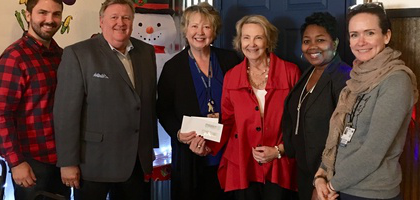 OR Nurses presents donation to Baptist College